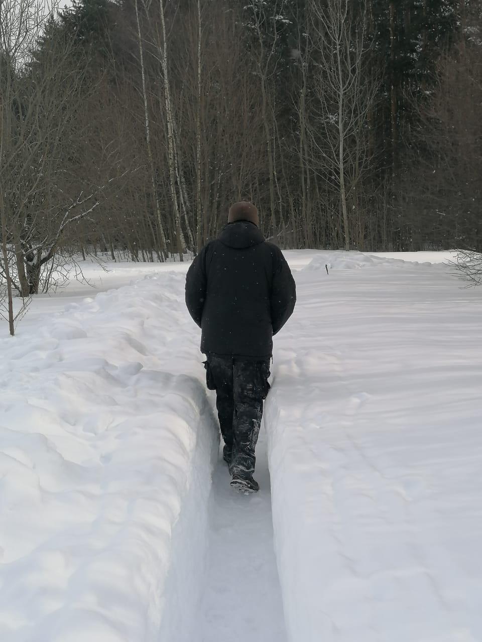 К сожалению, по разным причинам в феврале, не получилось сходить в походы, если не считать пары небольших прогулок через лес...