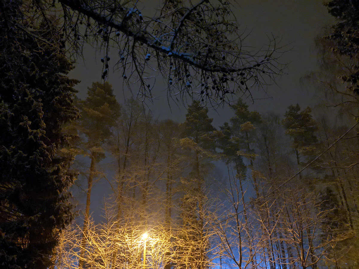 4 марта 2021. Весенний снегопад...