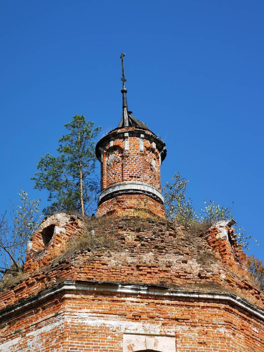 Купол церкви снаружи...