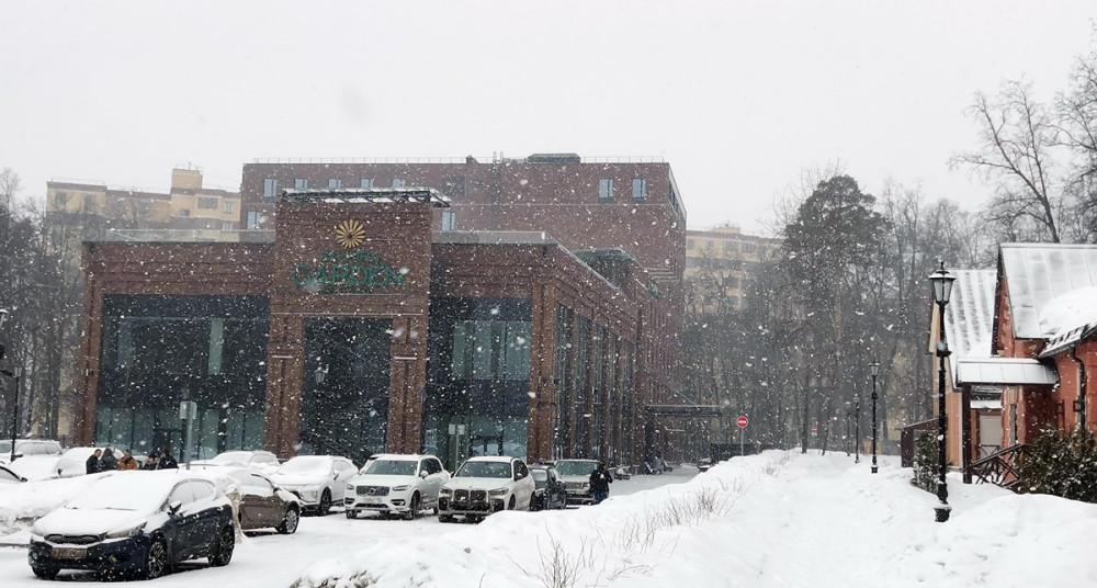Снегопад усилился... #сновавесна...