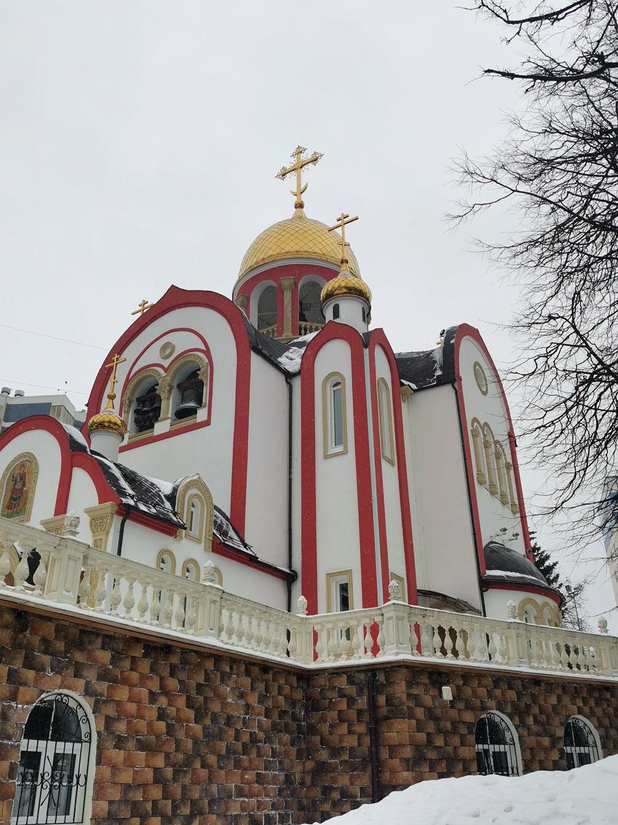 Храм великомученика Георгия Победоносца в Видном