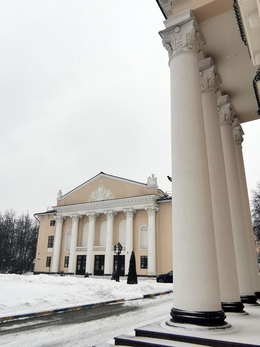 Бывший дом культуры Московского коксогазового завода, 1955 г. А ныне Районный центр культуры и досуга.