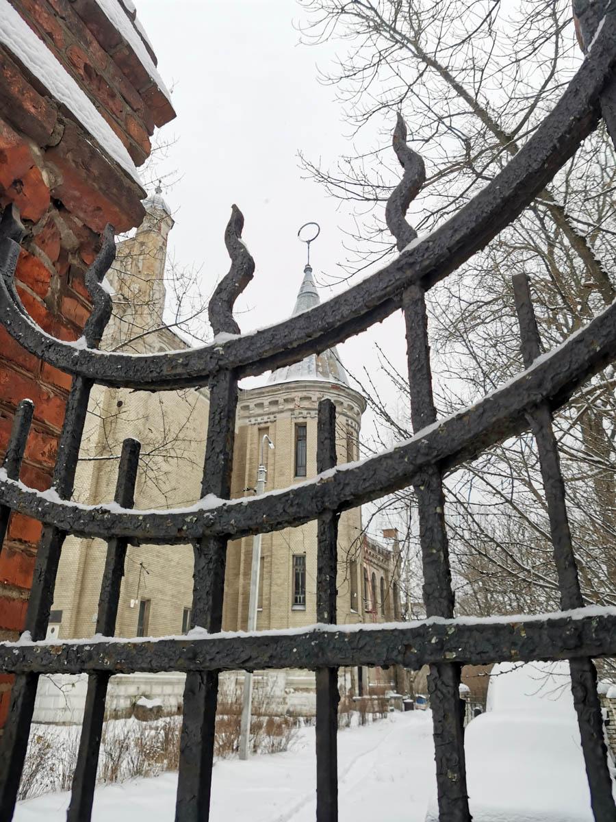 Ограда замка