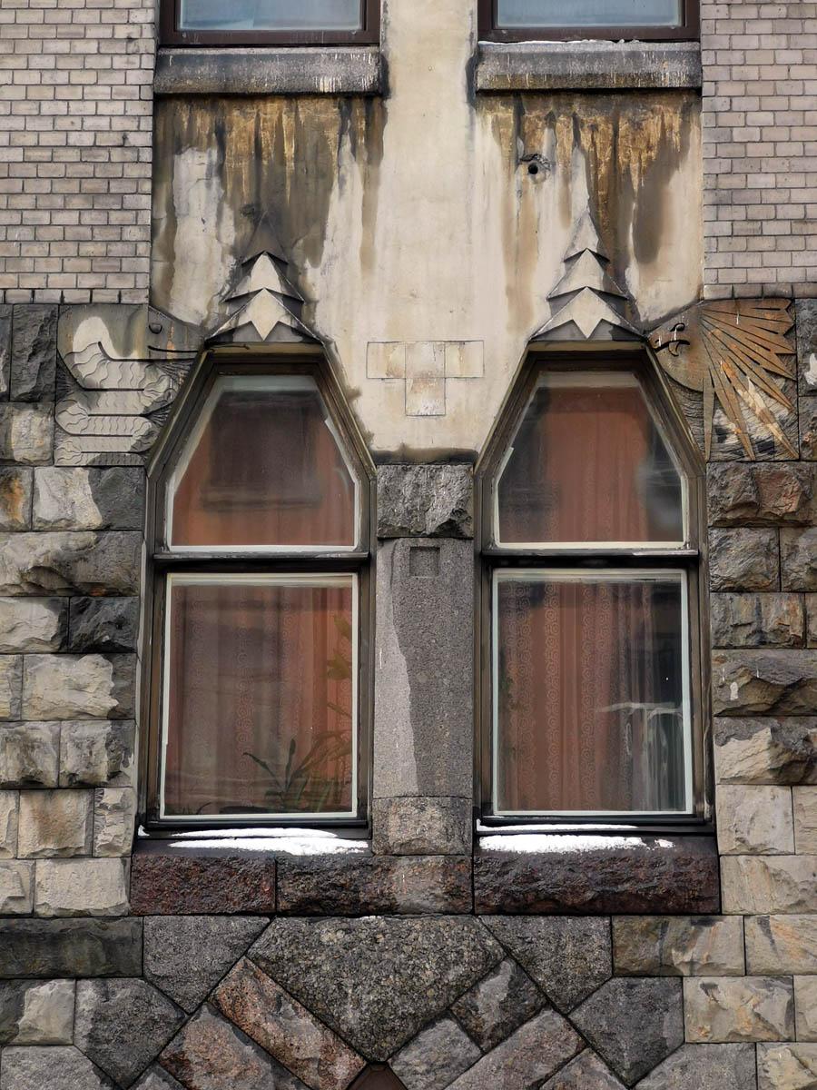 Санкт-Петербург, Стремянная ул., д. 11. Доходный дом архитектора Бубыря.