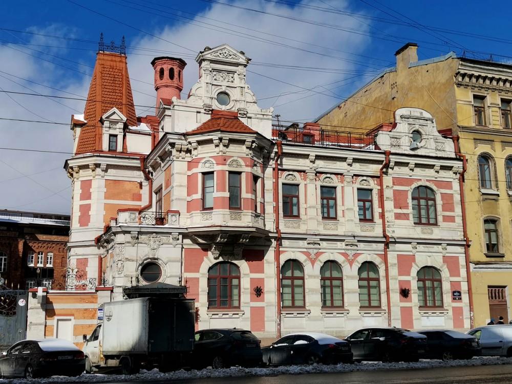 23 марта 2021г. Санкт-Петербург, ул. Марата, 63, Особняк К. Б. Зигеля. Годы постройки: 1888-1890. Архитектор Китнер И. С.