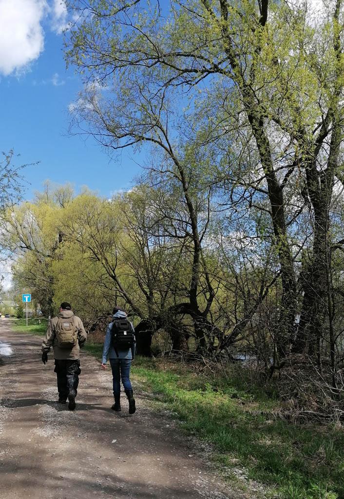 Продолжаем прогулку вдоль каскадных прудов.