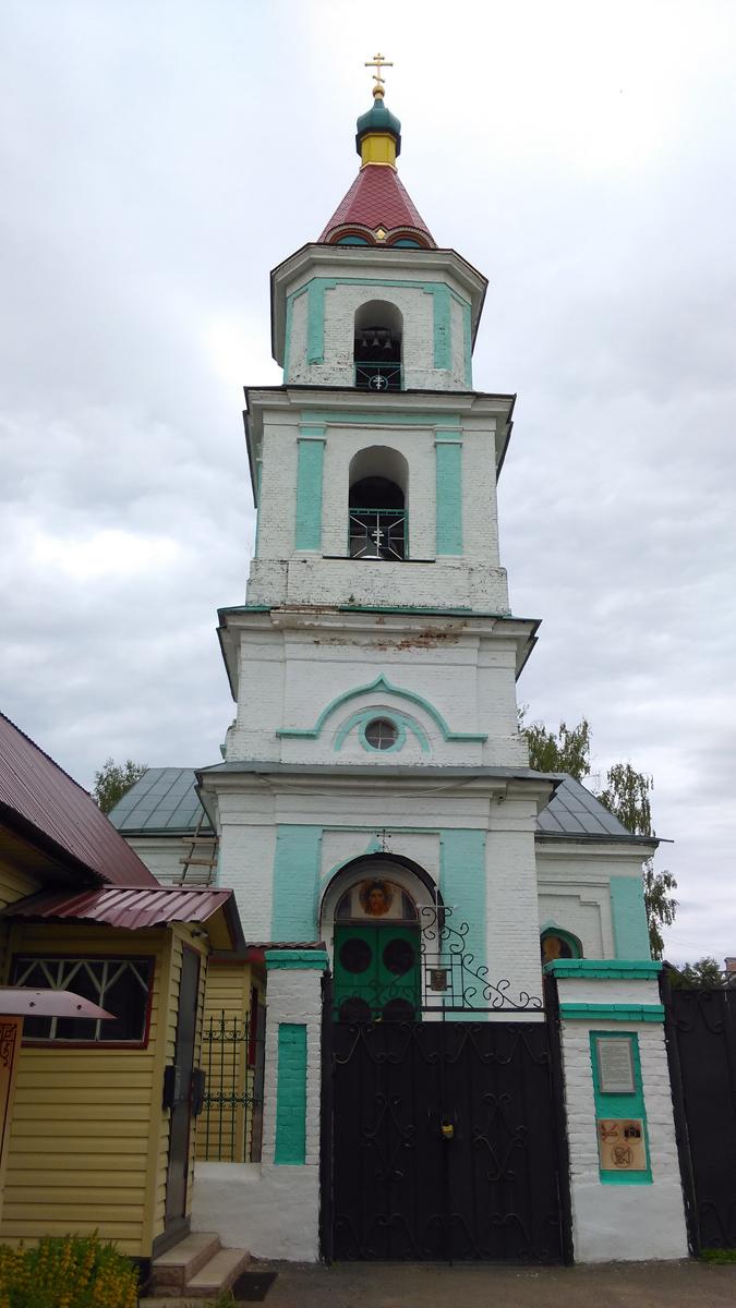 Церковь Преображения Господня в Спас-Детчине (Большое Руново)