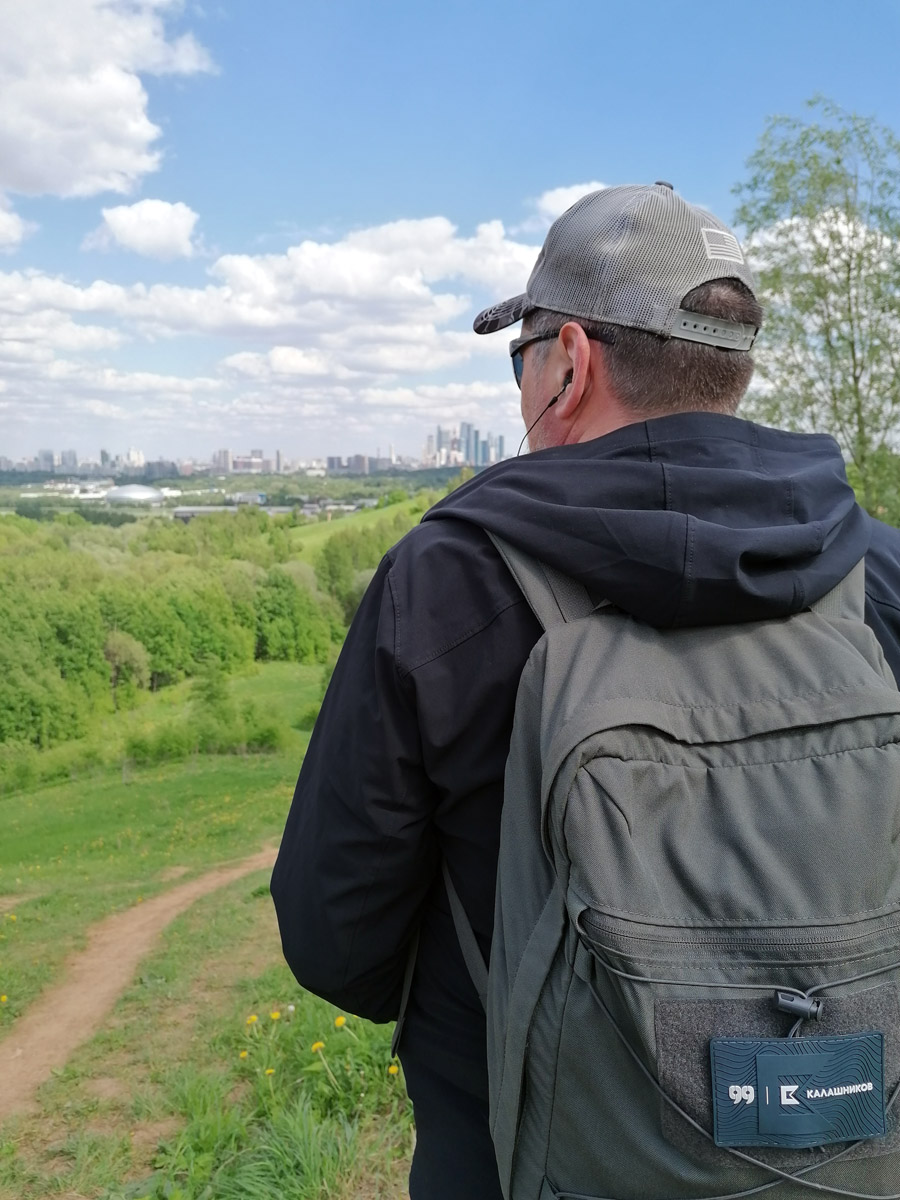 А я гляжу в даль и составляю новые маршруты прогулок и походов...