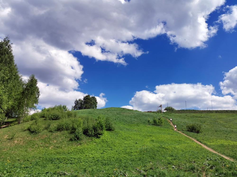 22 мая 2021г. Большой (Восточный) Крылатский холм.