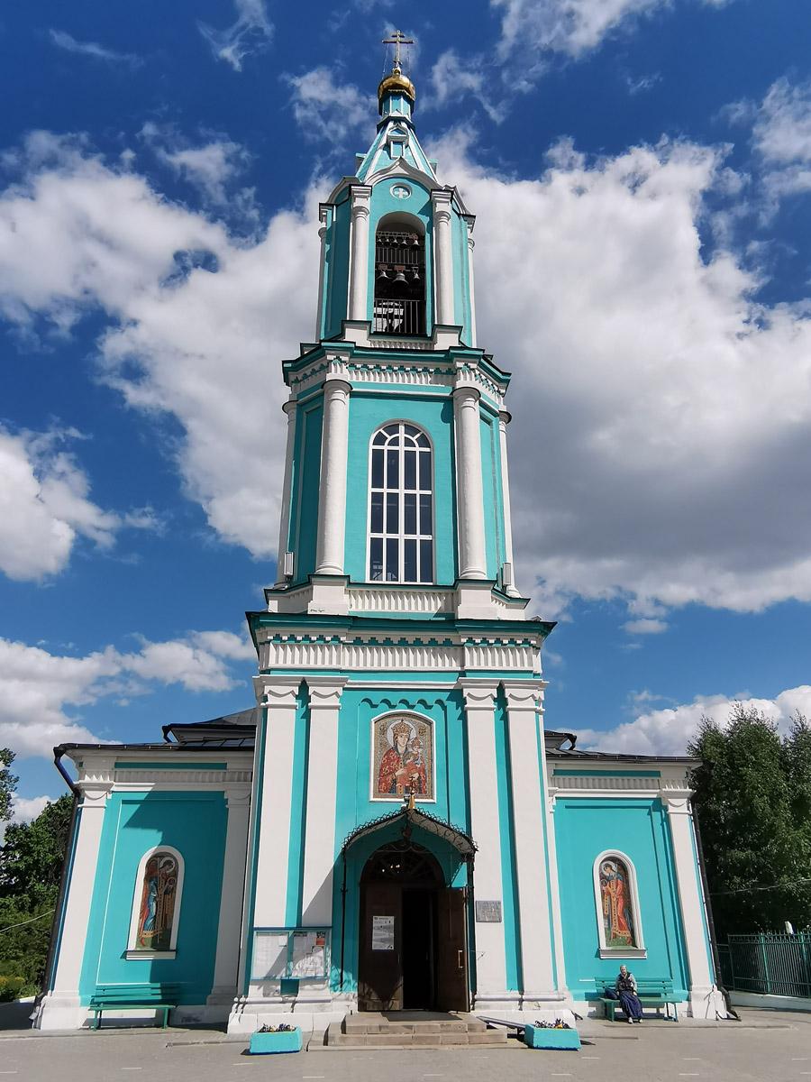 Основной объем построен в 1862-1868 гг. Колокольня возведена в 1877 гг.