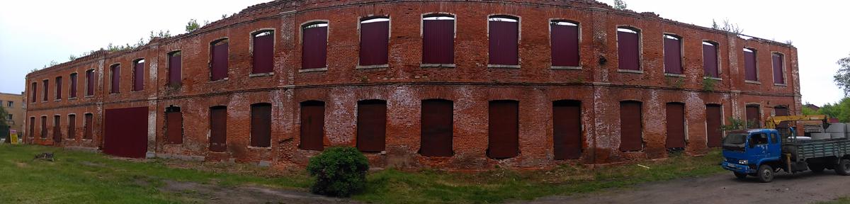 Это же здание. Панорама.