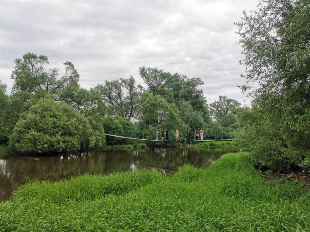 Этот же мост, вид с правого берега