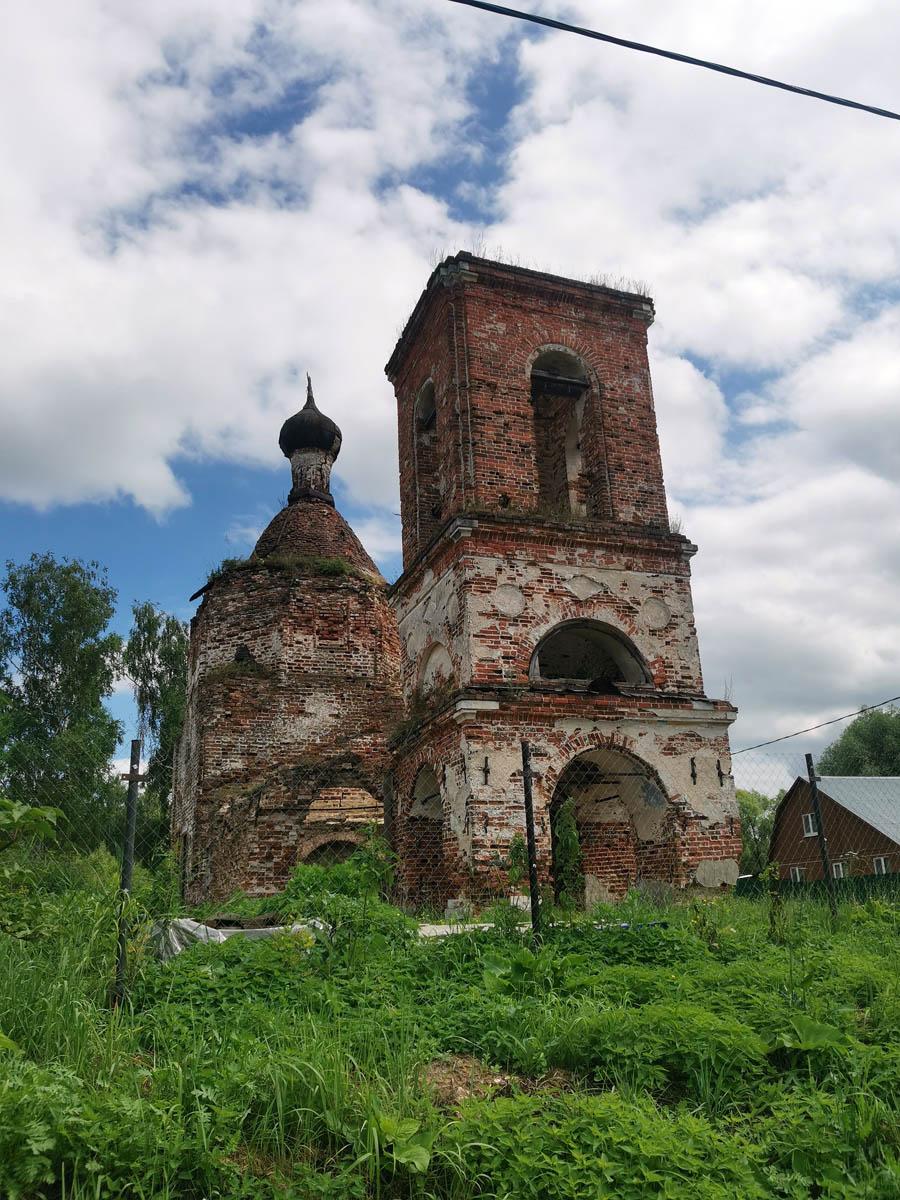 Церковь Казанской иконы Божией Матери с селе Суково.
