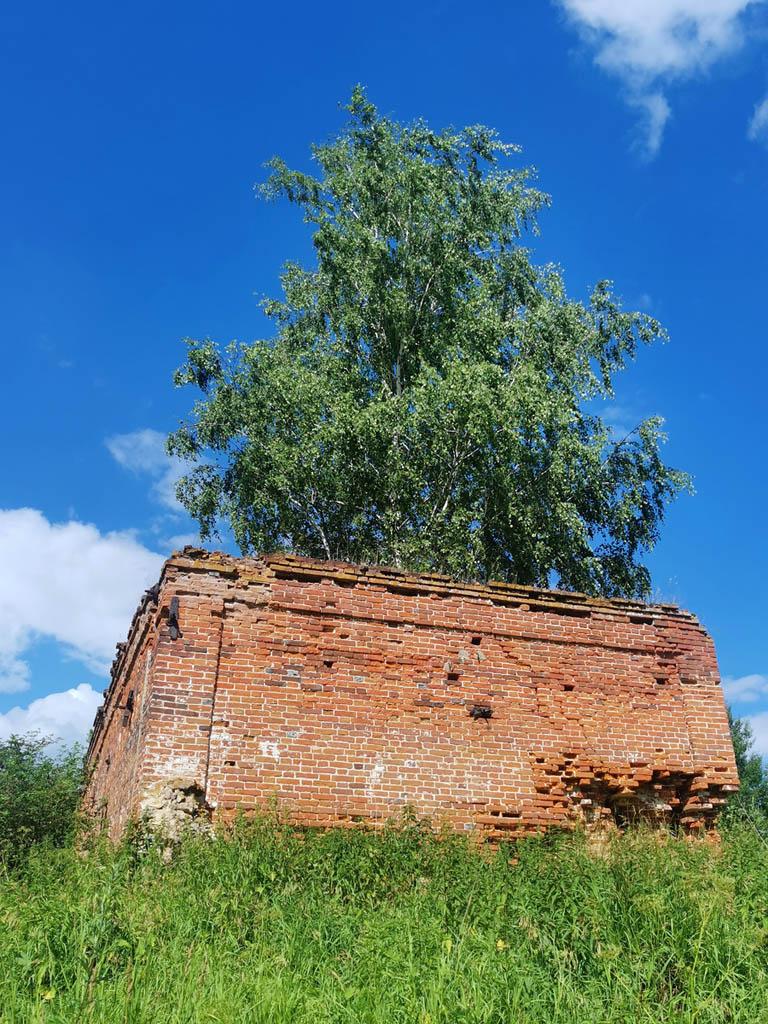Сторожка усадьбы Алешково