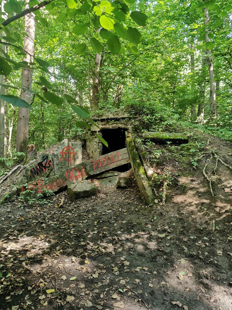 Развалины НУПа. Их несколько на территории парка и все примерно в таком состоянии  — #позабытпозаброшен