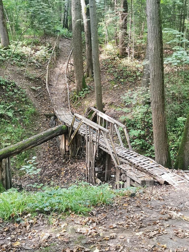 Мостов и мостиков много и на любой вкус.