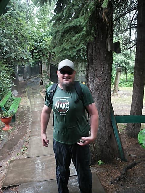 А в последний день июня я, возвращаясь из очередного похода, попал под проливной дождь.
