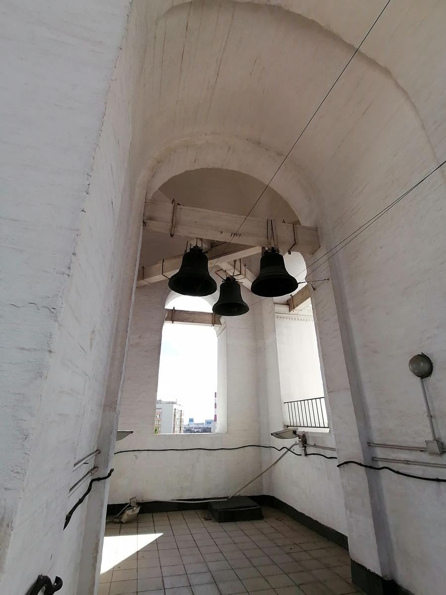 Еще раз любуюсь колоколами...