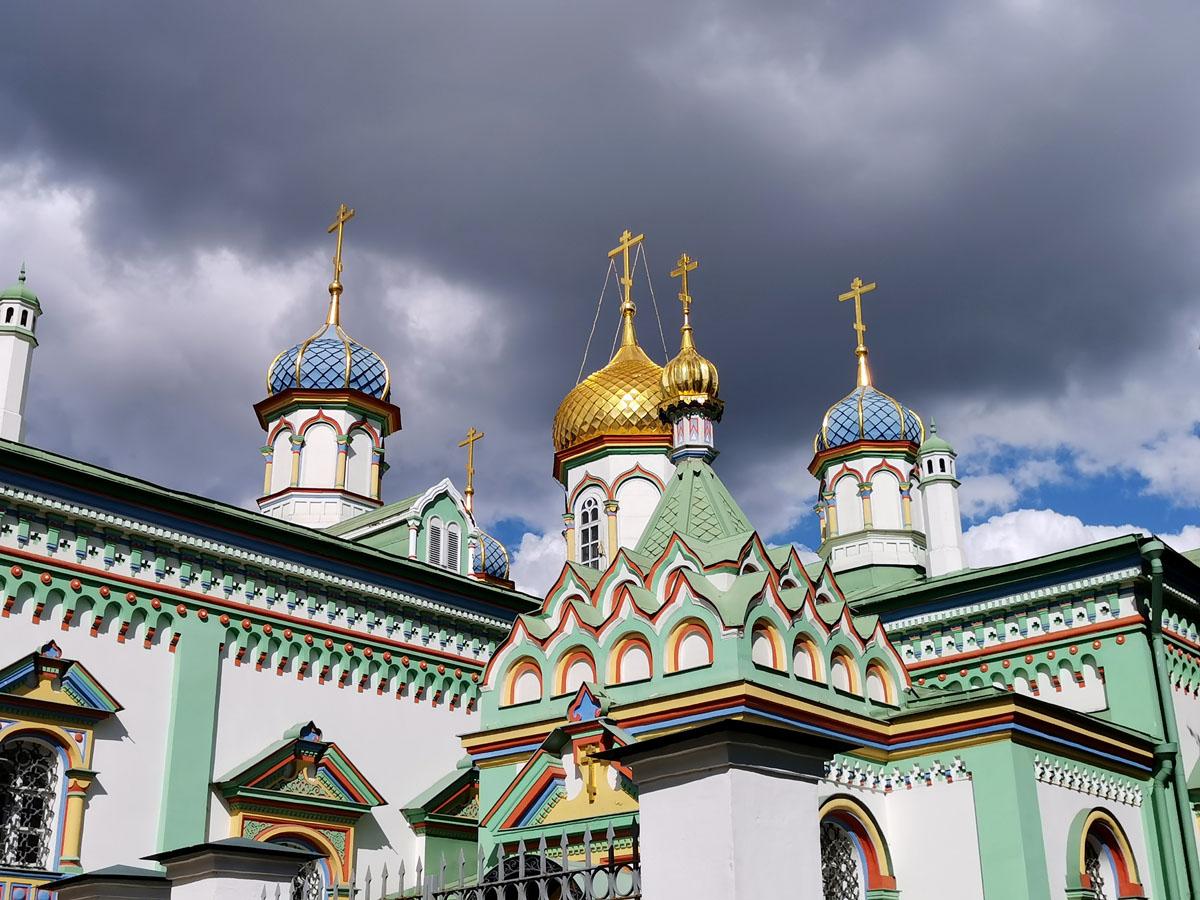 22 августа 2021г. Москва, Рогожская Слобода. Храм Святителя Николы Мирликийского на Рогожском кладбище