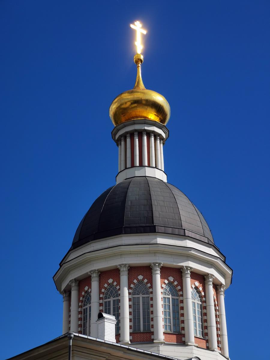 Храм был восстановлен в 2008 г. 2 декабря 2008 года состоялась торжественная церемония установки креста на куполе храма. Вместе с установленным крестом высота храма составила 47 метров.