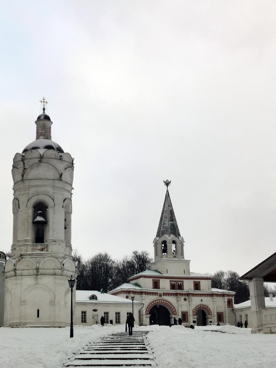 Храм-звонница Георгия Победоносца. Сооружена в XVII веке.