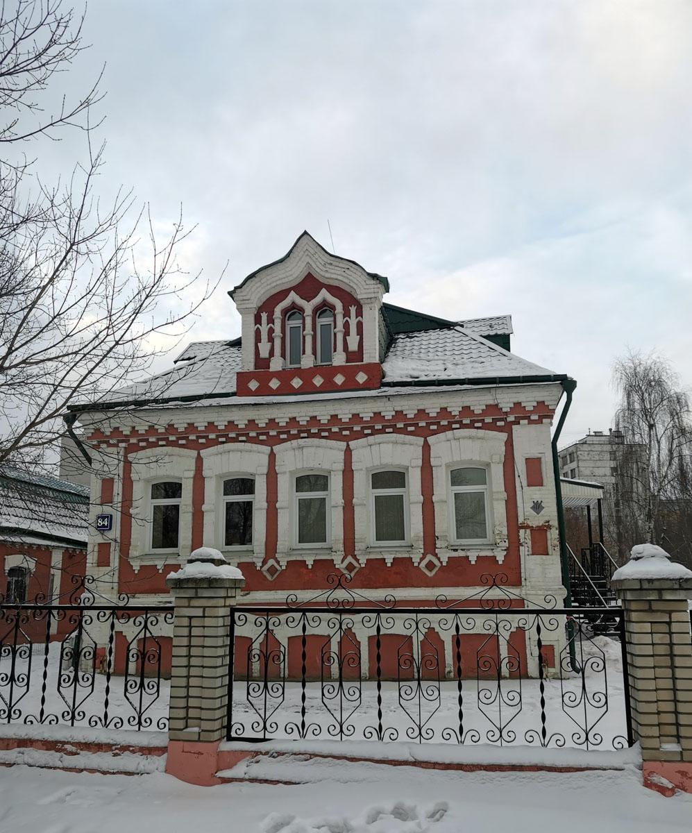 Музейный комплекс «Усадьба Гробовых». Единственное здание, оставшееся от бывшего села Коломенское.