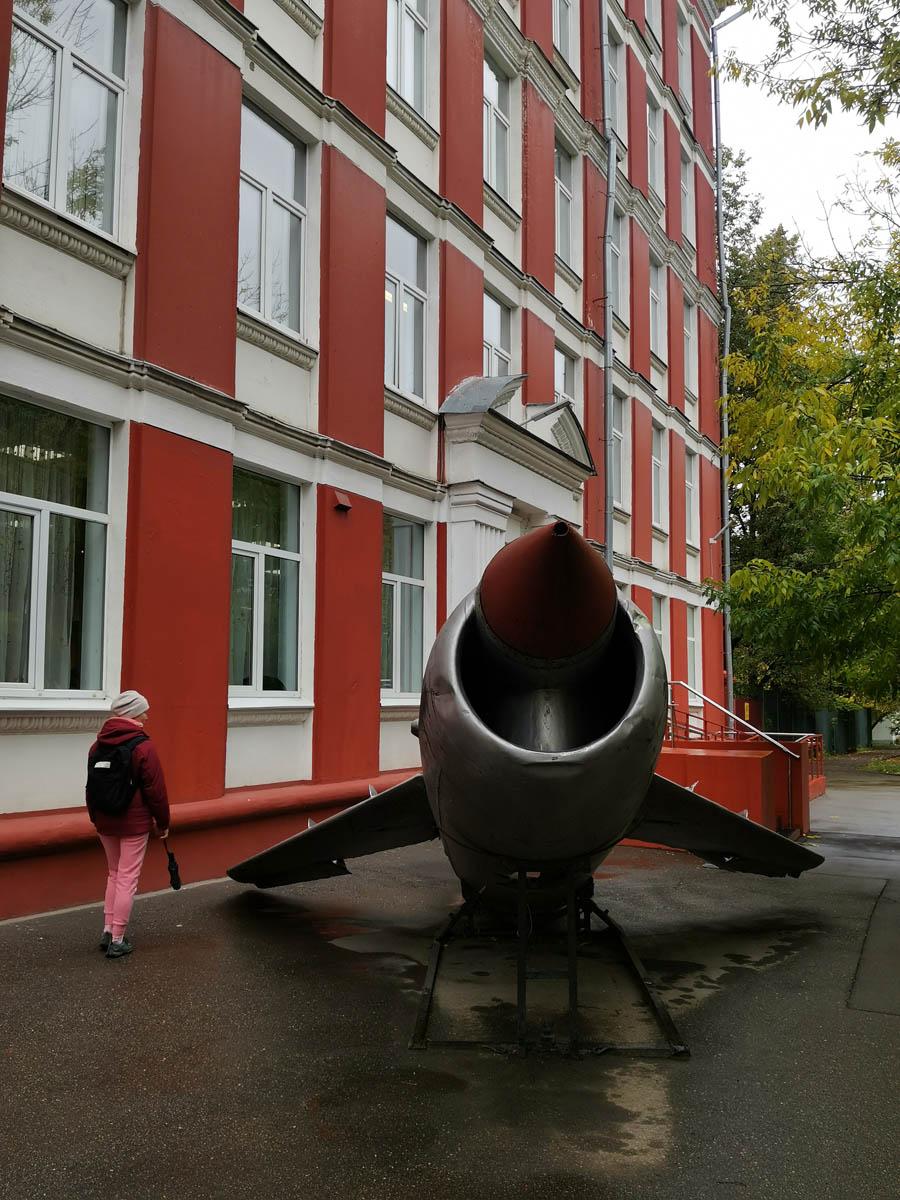 """Перед ним установлена Крылатая ракета КС-1 """"Комета"""""""