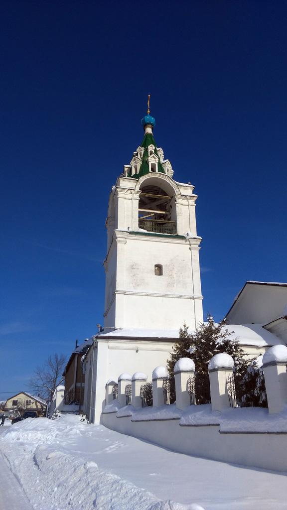 Церковь Рождества Пресвятой Богородицы в Верхнем Мячкове Раменского района.