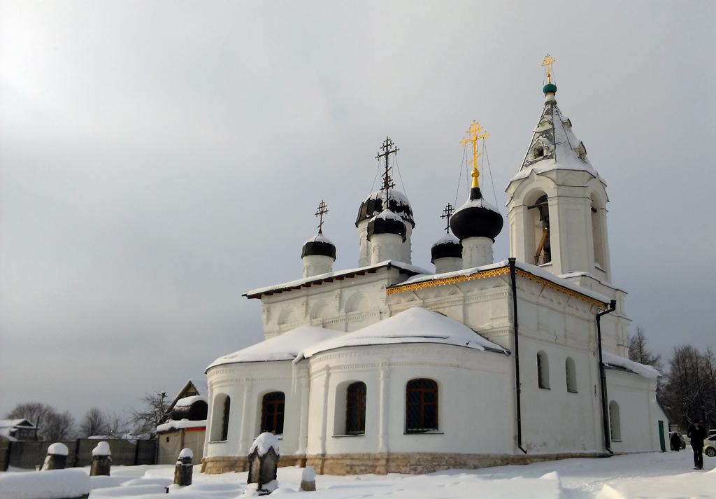 Церковь Воскресения Словущего в Битягове