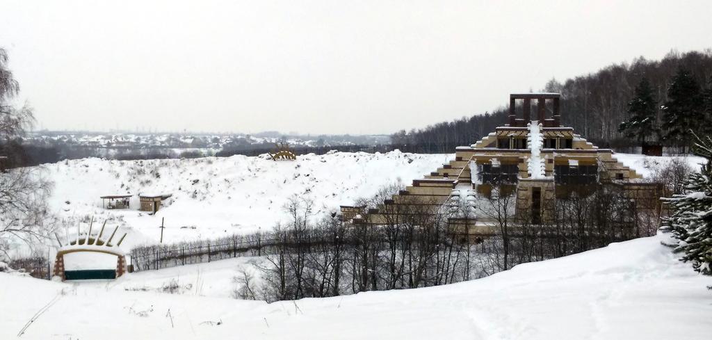 Ну, кто бы мог предположить, что в Домодедово есть подобное сооружение!
