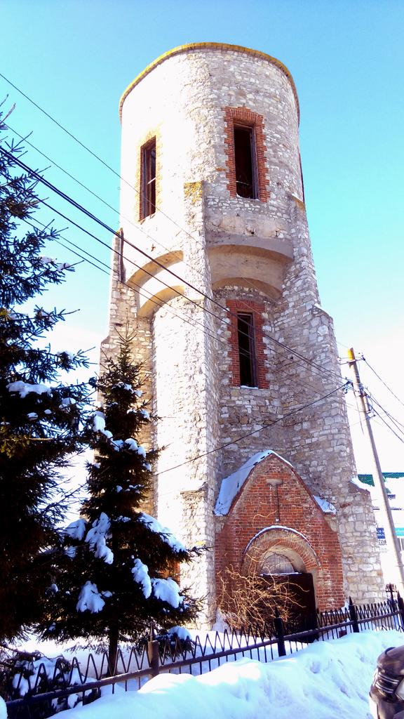 Тюремная водонапорная башня. Построена в 1910 году.