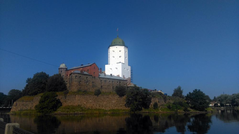 25 июля 2018. , Выборг, Остров Замковый, Выборгский замок, Башня Святого Олафа.