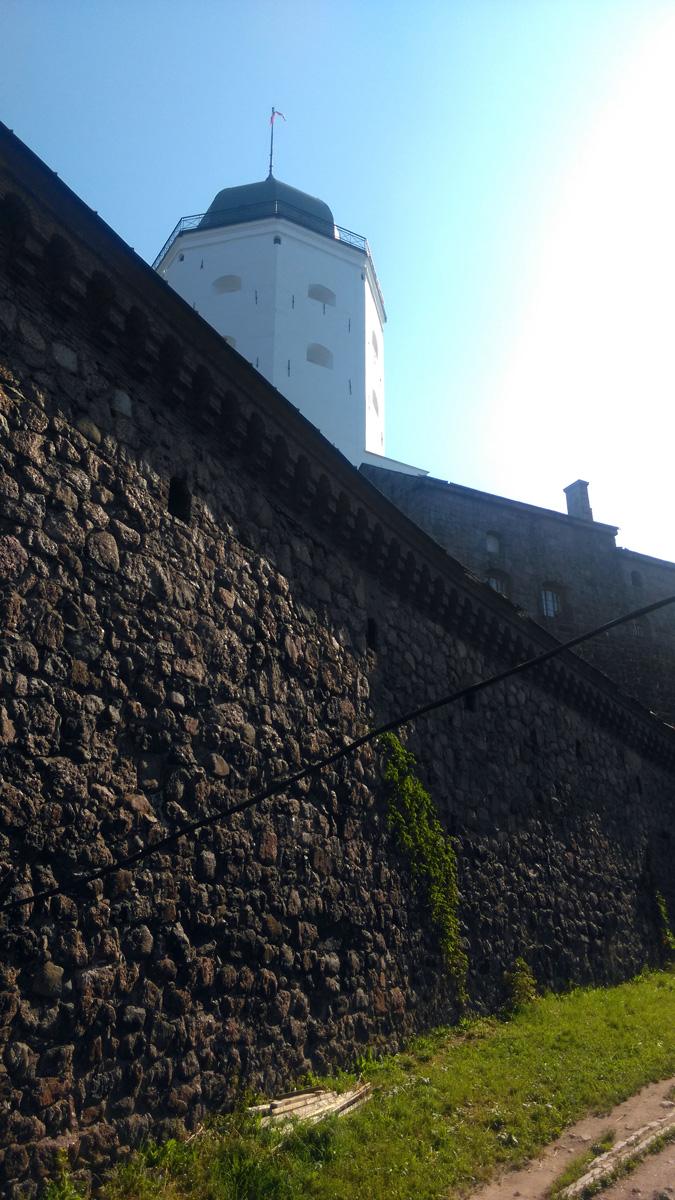 Южная стена с бойницами