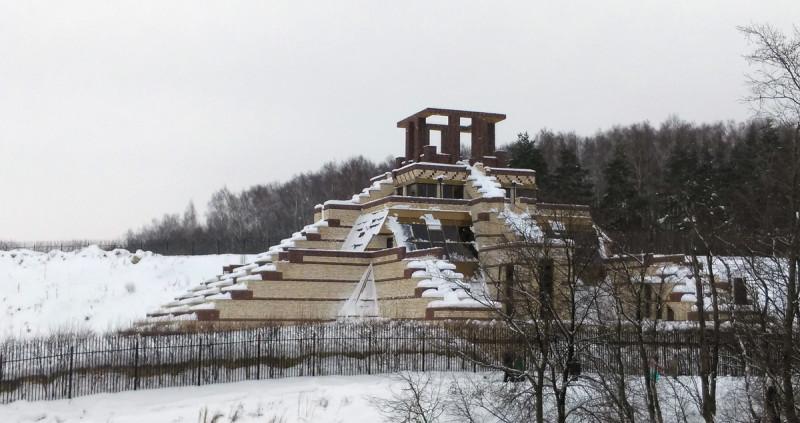 18 февраля 2018. Домодедовская Пирамида Майя.