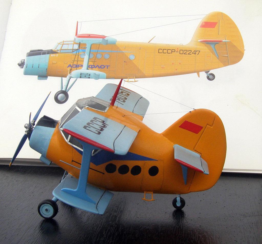Ан-2 Прототип и модель в стиле EGGPLANE