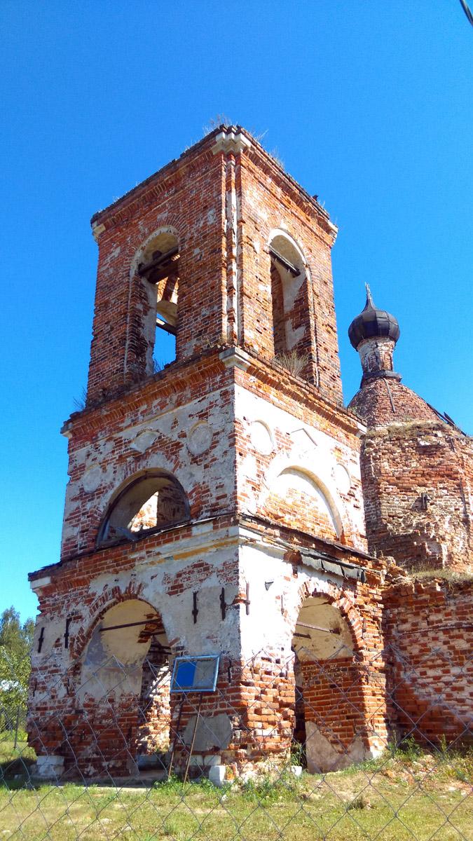 Руины Храма в Суково
