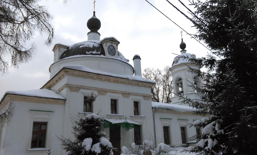 Церковь Живоначальной Троицы в Остафьеве