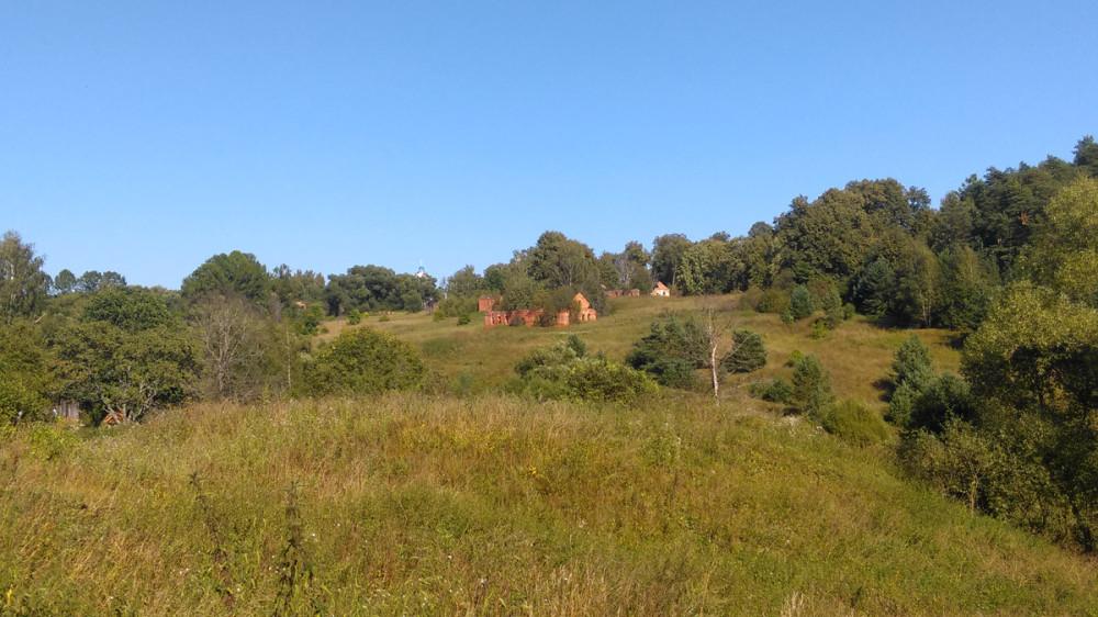 Фото на прощанье со стороны села Алёшково.