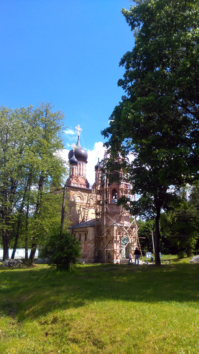 Церковь Покрова Пресвятой Богородицы. Год постройки между 1847 и 1853.