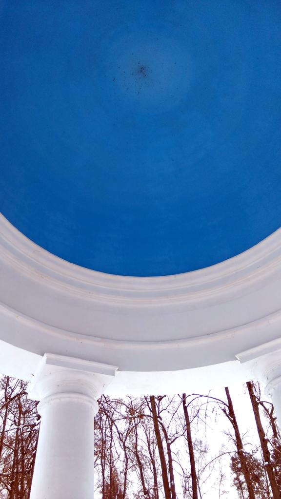 Какое небо голубое...