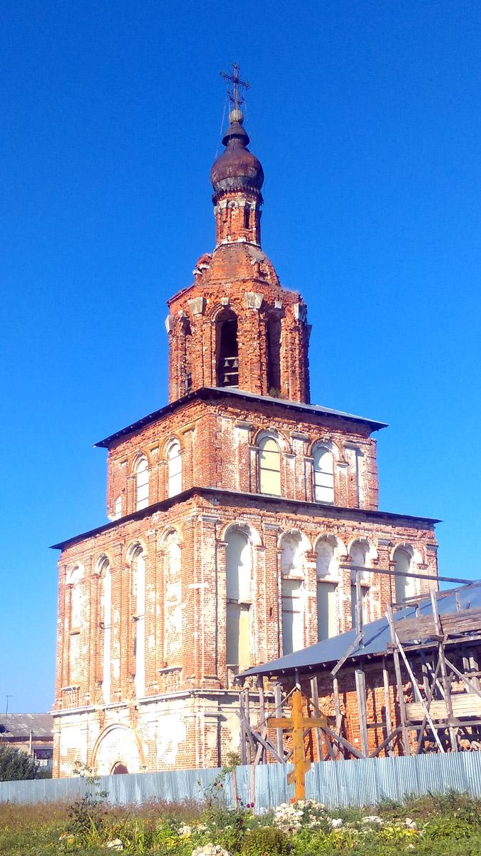 Церковь-колокольня преподобного Исаакия, игумена Далматского (колокольня церкви Благовещения) Село Степановское.