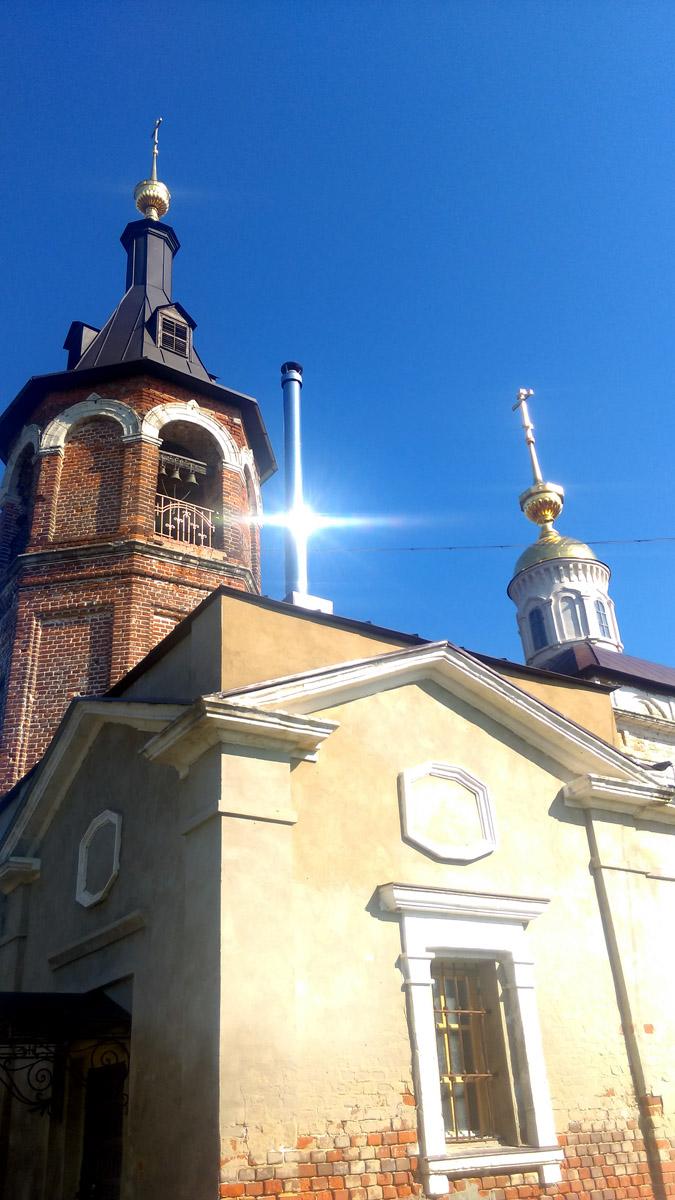 Церковь Покрова Божией Матери село Покровское.
