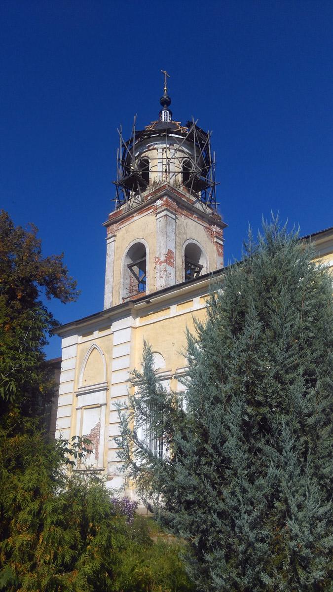 Храм Рождества Пресвятой Богородицы (Мещеринская церковь) Мещерино.