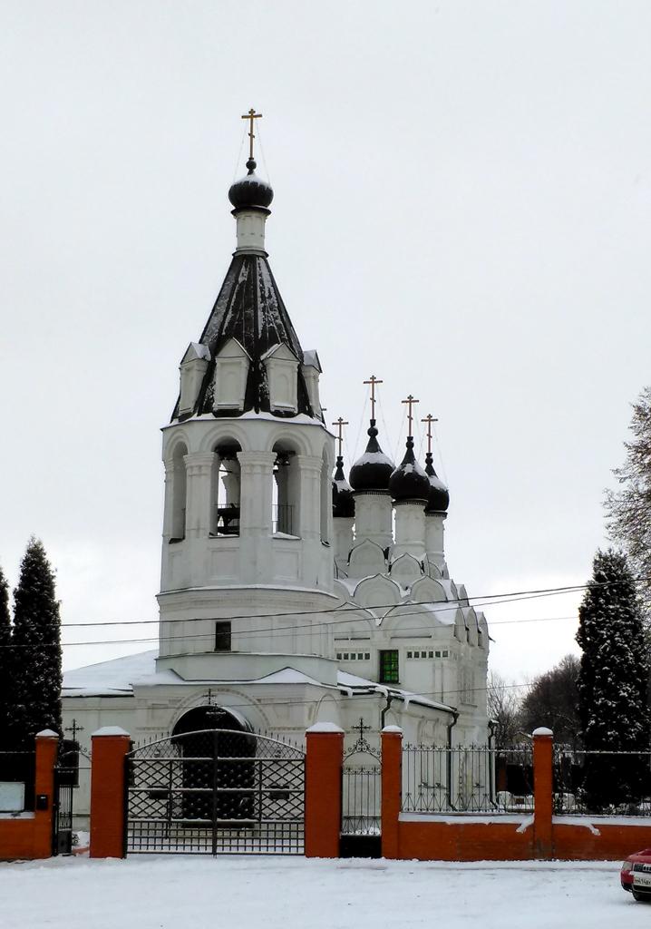 Церковь Знамения Пресвятой Богородицы. гор. округ Домодедово, село Кузьминское.