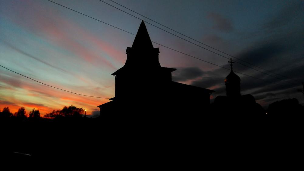Просто, красивый закат.