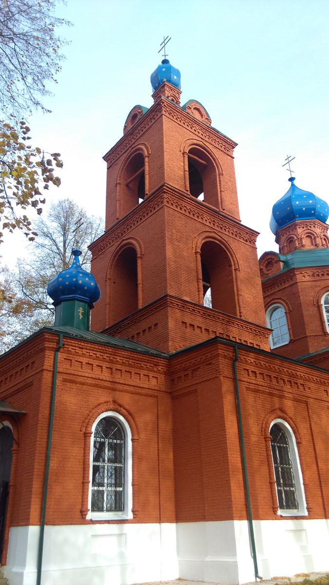 Храм Рождества Пресвятой Богородицы, построенн между 1896 и 1902 годами.
