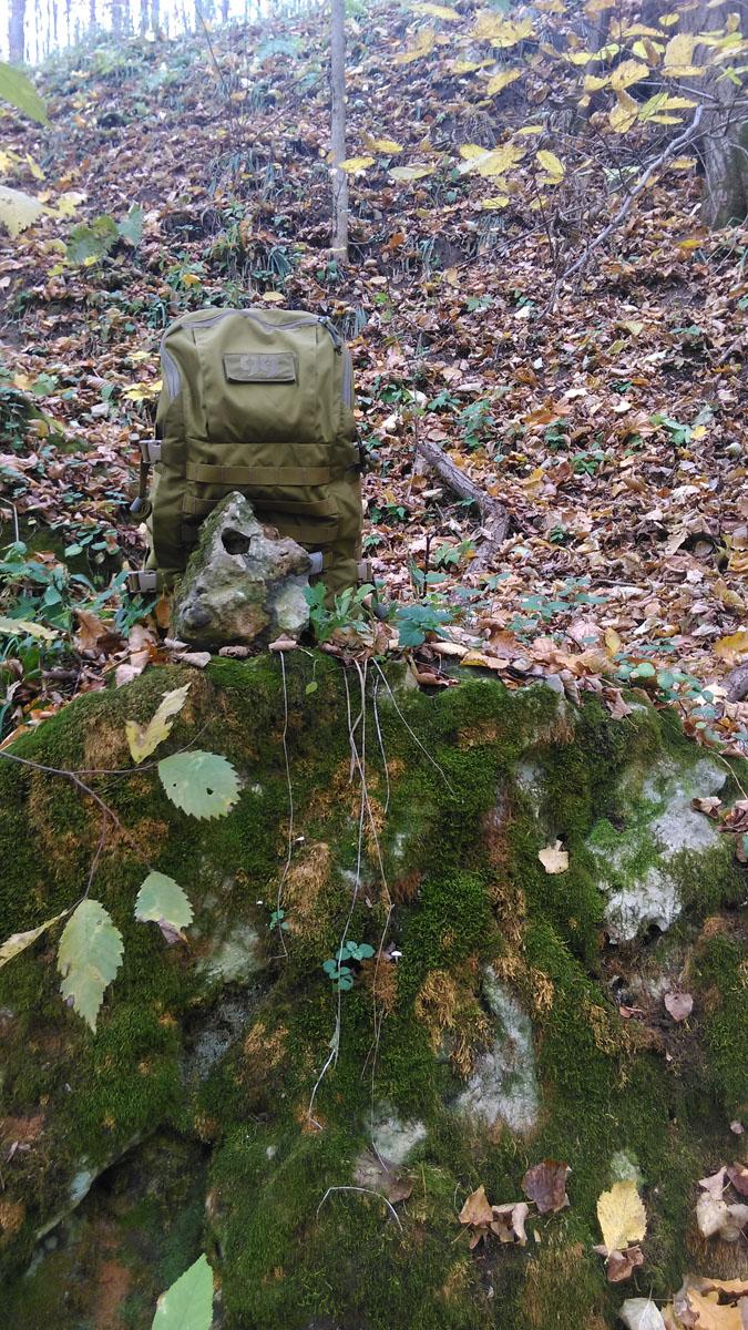 """Немного похвастаюсь... Мой очередной рюкзак от """"Группы 99"""". Т-30 в естественной среде обитания ))"""