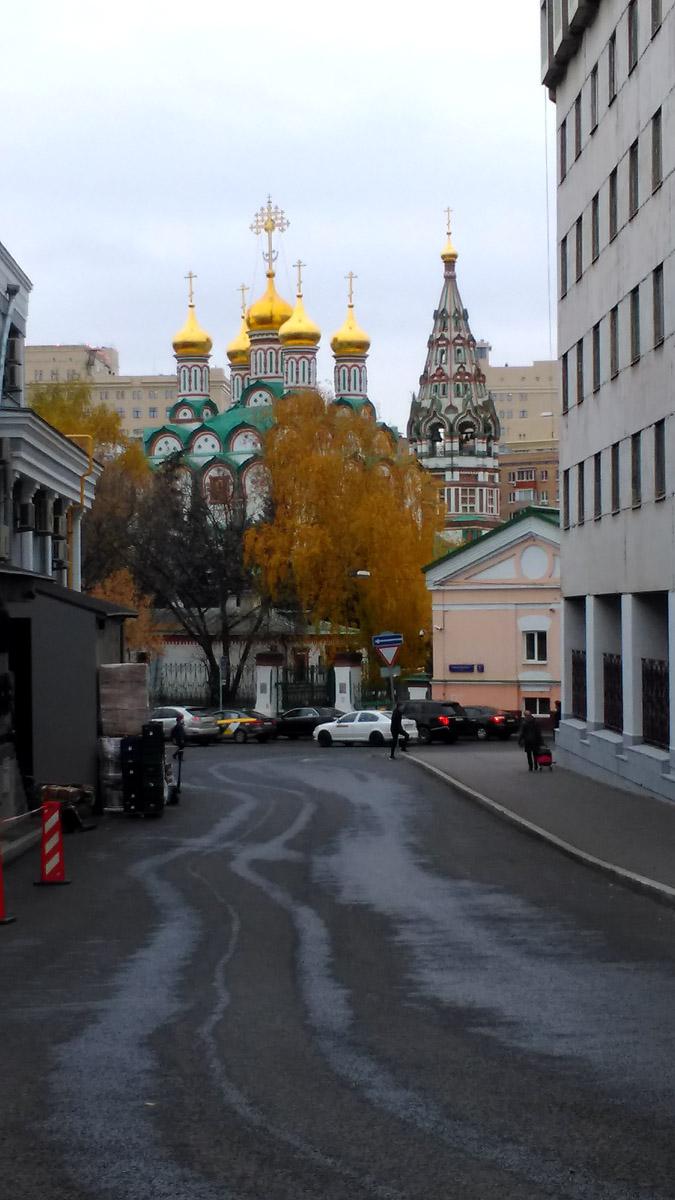 Храм Николая Чудотворца в Хамовниках.
