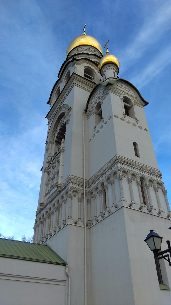 Храм-колокольня Воскресения Христова в Рогожской Слободе.