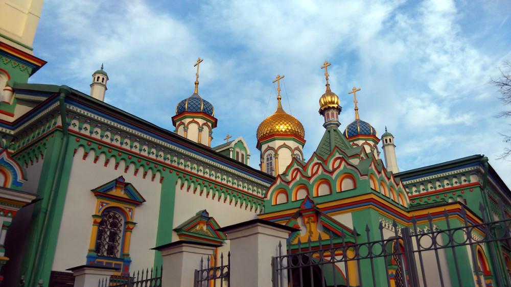 17 октября 2018. Храм Святителя Николая Мирликийского на Рогожском кладбище.